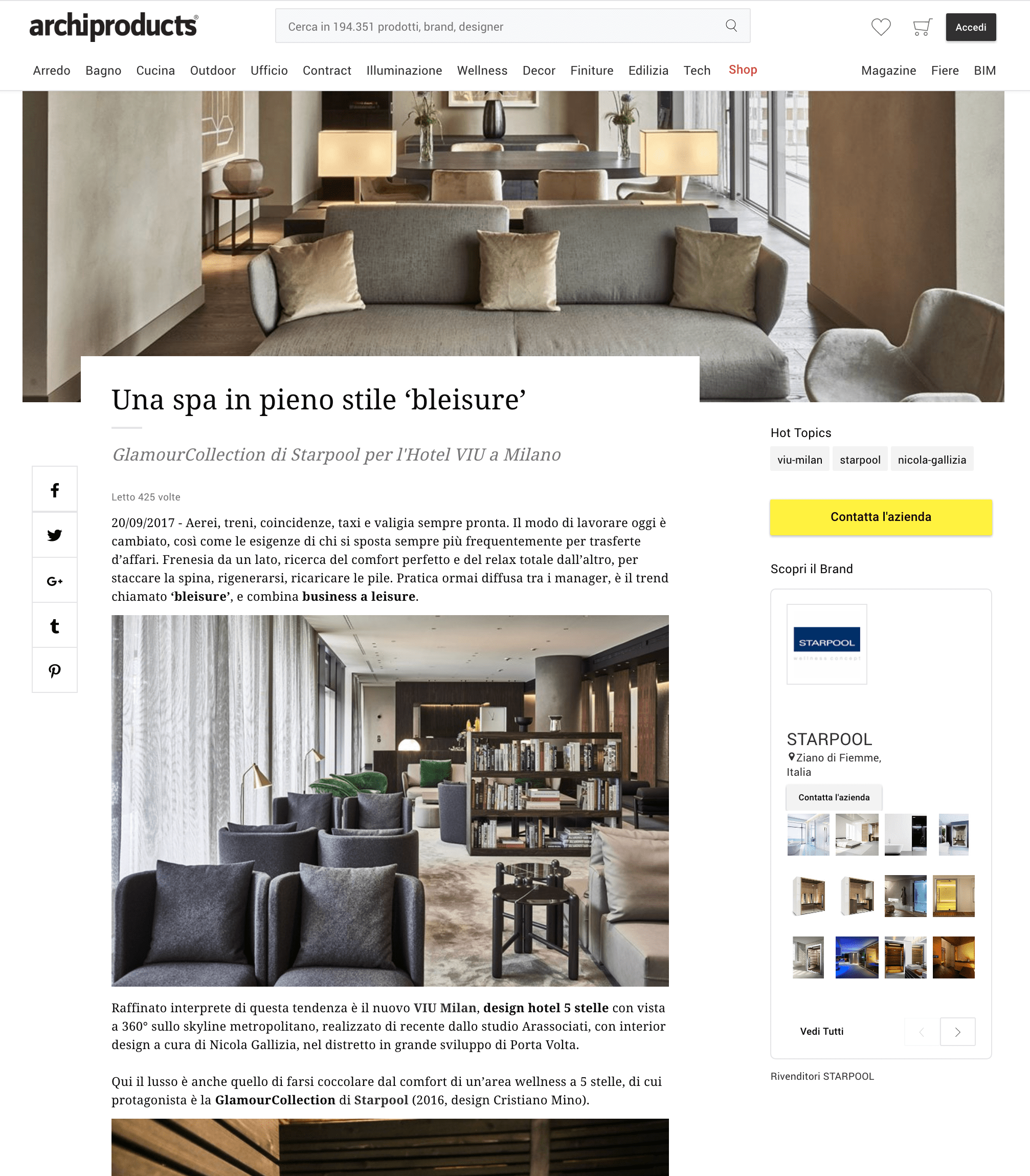 Archiproducts_Hotel_viu_milan_press_spa_bleisure