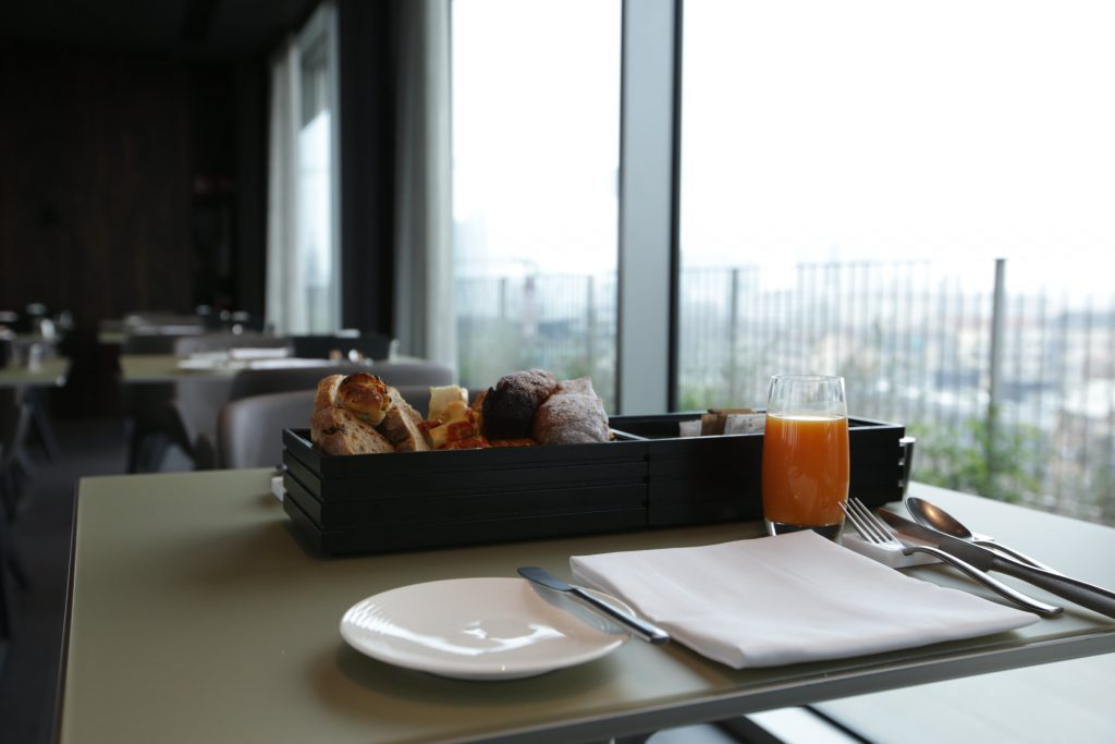 Colazione in terrazza? Benvenuti all\'Hotel VIU Milan