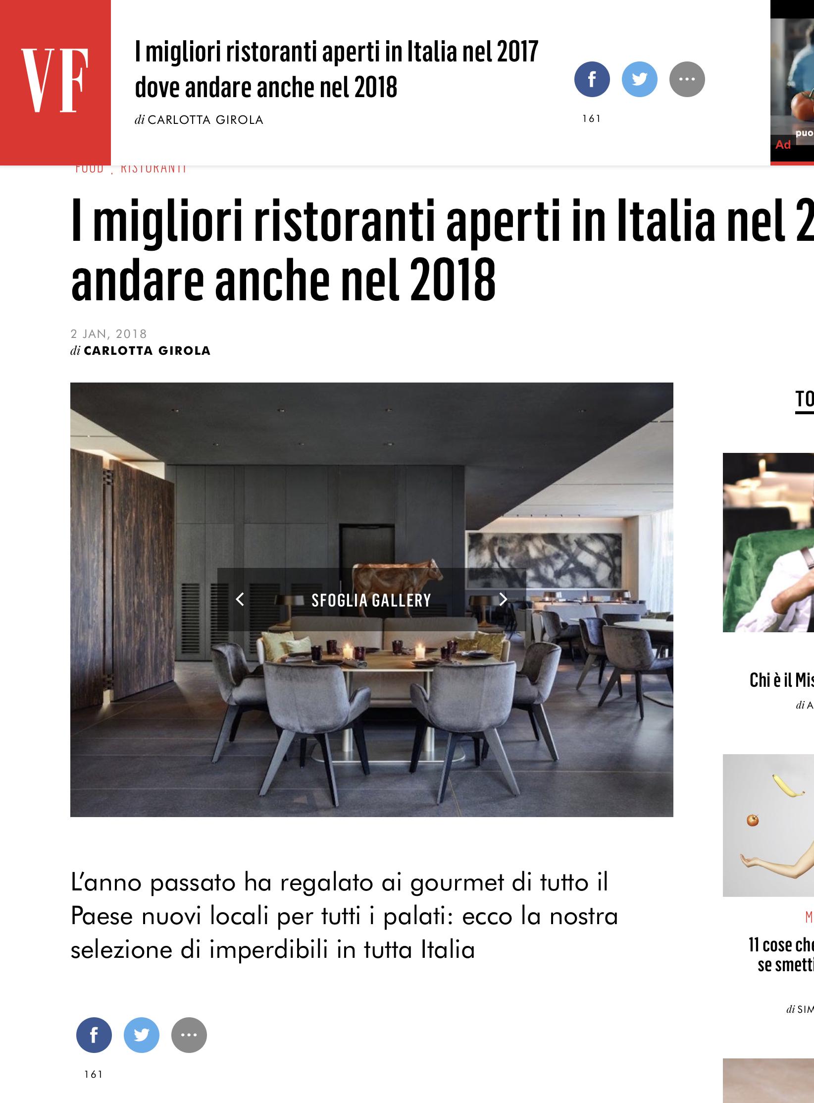 Migliori ristoranti milano 2017/2018